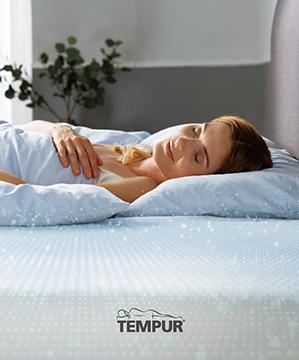 For your best night's sleep   feel comfort, feel support, feel TEMPUR®